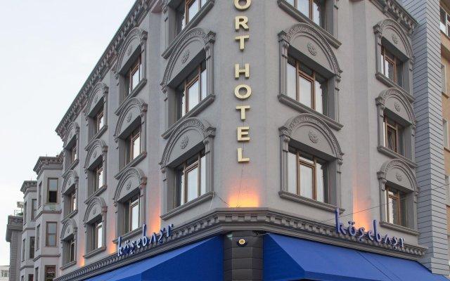 Port Hotel Tophane-i Amire Турция, Стамбул - отзывы, цены и фото номеров - забронировать отель Port Hotel Tophane-i Amire онлайн вид на фасад