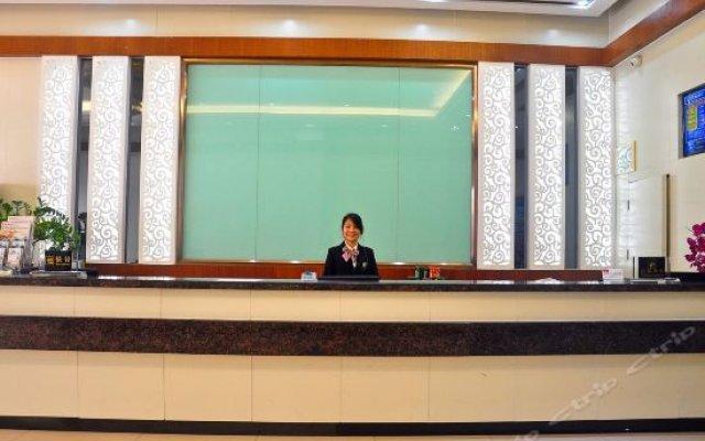 Zhuxing Hotel (Jiangxia Metro Station) интерьер отеля