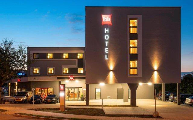 Отель ibis Muenchen Airport Sued вид на фасад