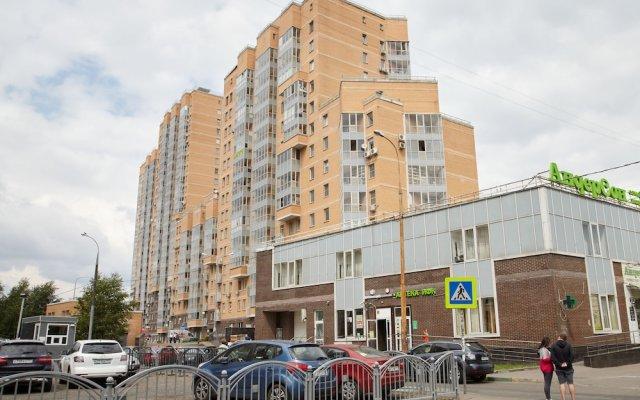 Отель Жилое помещение Братиславская Москва вид на фасад
