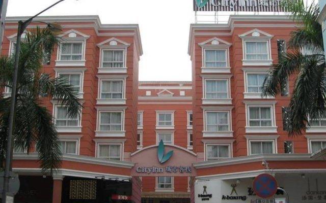 Отель City Inn Qinghui Shunde вид на фасад