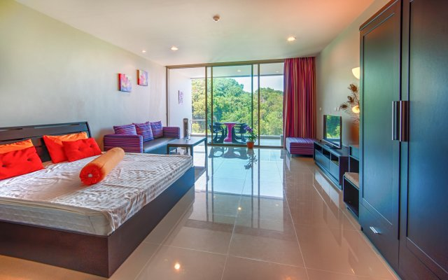 Апартаменты Seaview Modern Apartment At Karon Hill
