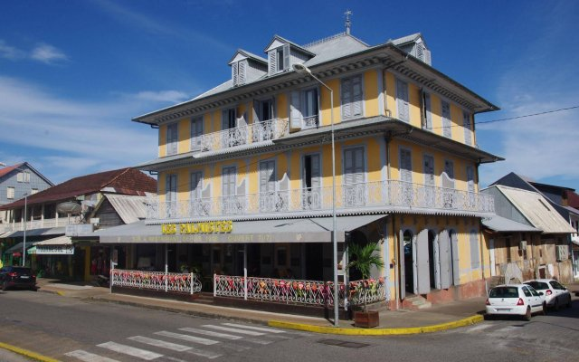 Hôtel des Palmistes in Cayenne, French Guiana from 138$, photos, reviews - zenhotels.com hotel front