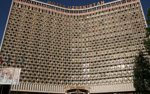 Отель Uzbekistan Узбекистан, Ташкент - 10 отзывов об отеле, цены и фото номеров - забронировать отель Uzbekistan онлайн вид на фасад