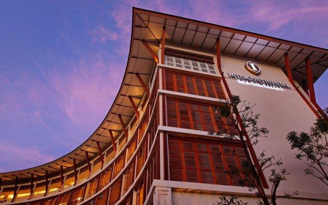 Отель Intercontinental Hua Hin Resort вид на фасад
