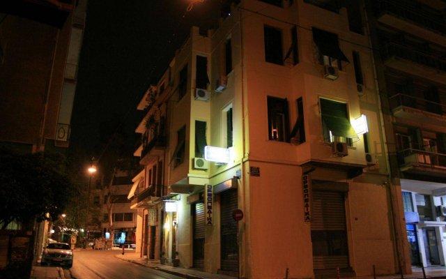 Отель Alyzia Ηotel вид на фасад
