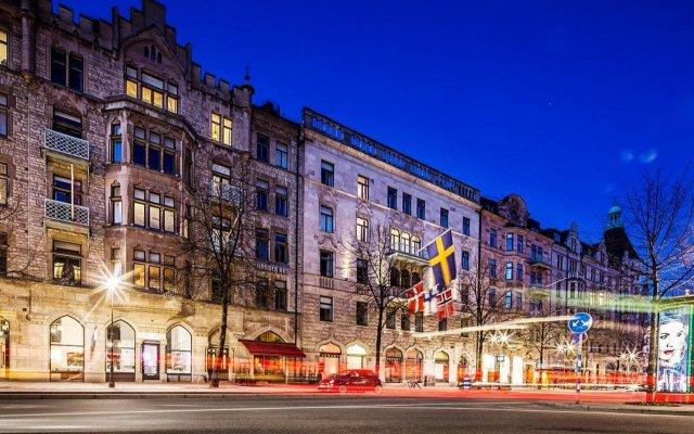 Hotel Drottning Kristina вид на фасад