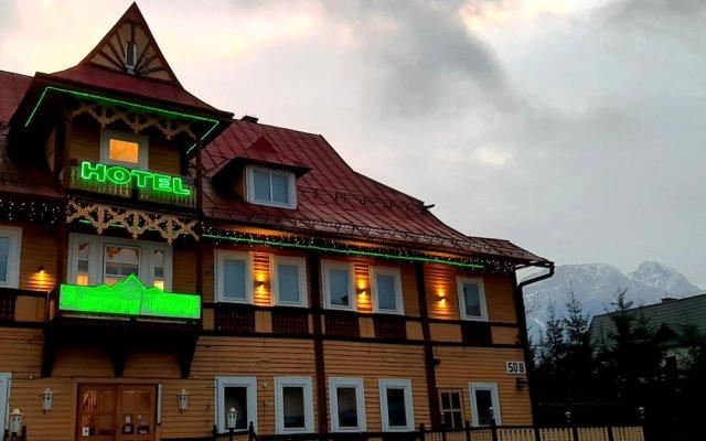 Отель Kasprowy Wierch Закопане вид на фасад