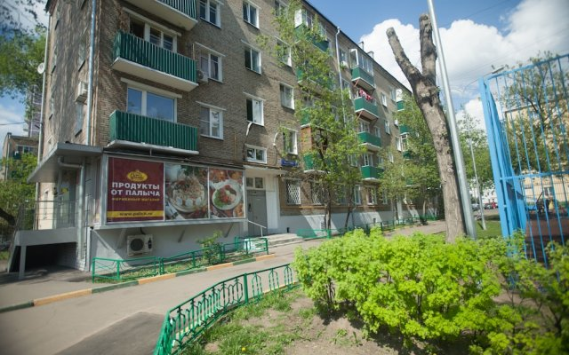 Отель Меблированные комнаты Kvart Boutique Taganka Москва вид на фасад