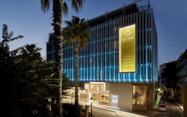 Olive Green Hotel вид на фасад