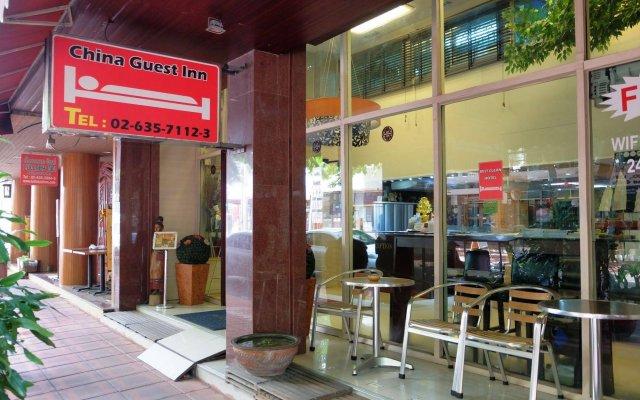 Отель China Guest Inn Бангкок вид на фасад
