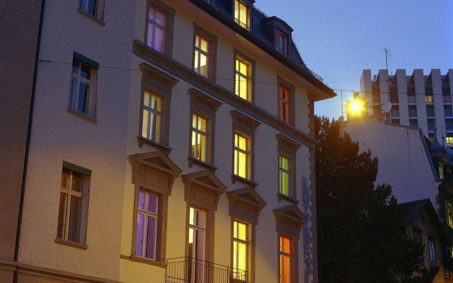 Отель Design Hotel Plattenhof Швейцария, Цюрих - отзывы, цены и фото номеров - забронировать отель Design Hotel Plattenhof онлайн вид на фасад