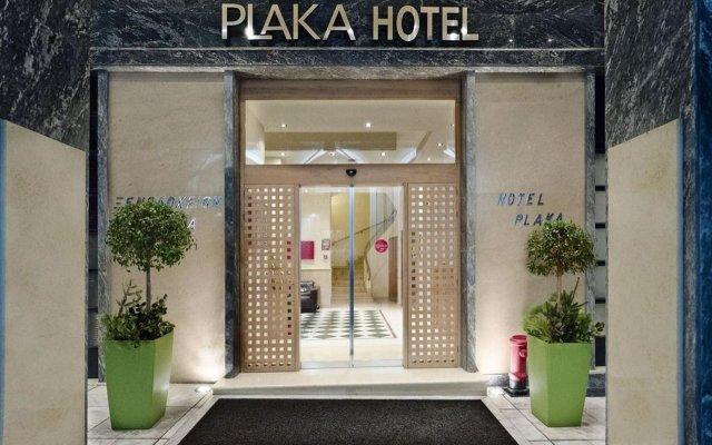 Plaka Hotel вид на фасад