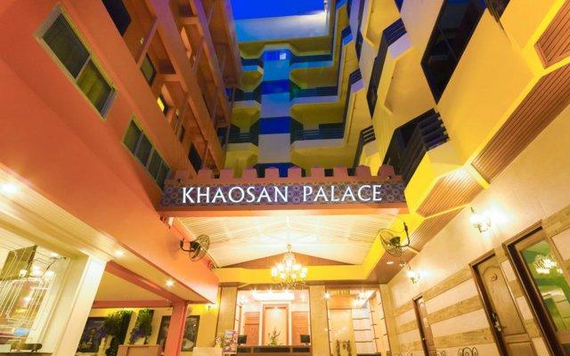 Отель Violet Tower at Khaosan Palace Таиланд, Бангкок - отзывы, цены и фото номеров - забронировать отель Violet Tower at Khaosan Palace онлайн вид на фасад