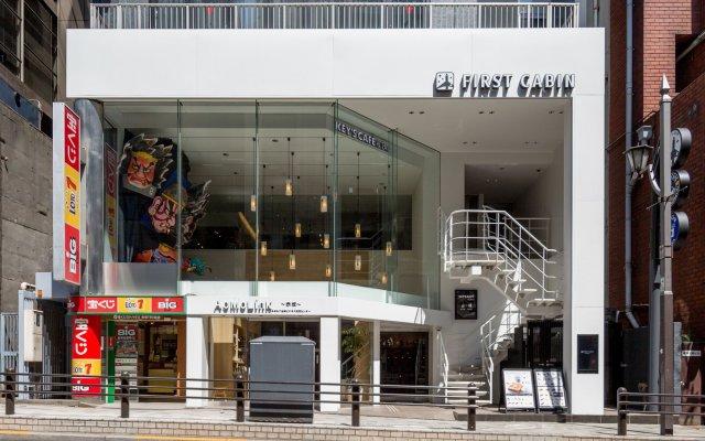 Отель First Cabin Akasaka Япония, Токио - отзывы, цены и фото номеров - забронировать отель First Cabin Akasaka онлайн вид на фасад