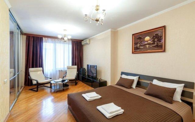 Апартаменты Premium Apartments Smolenskaya 7 Москва комната для гостей