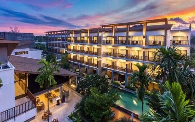 Отель Deevana Plaza Krabi вид на фасад