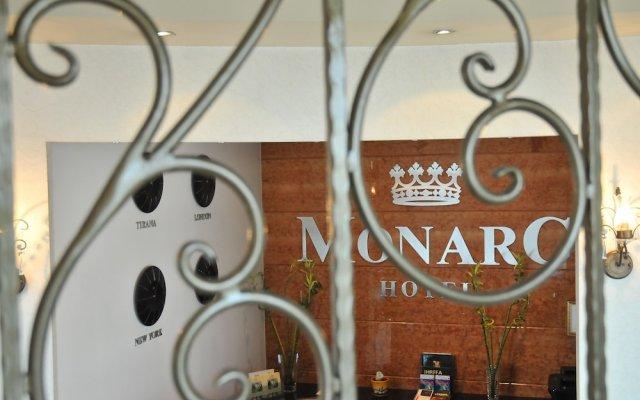 Отель MonarC Hotel Албания, Тирана - отзывы, цены и фото номеров - забронировать отель MonarC Hotel онлайн вид на фасад