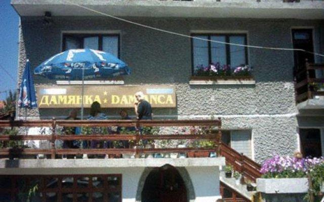 Отель Damianka Guest House Банско вид на фасад