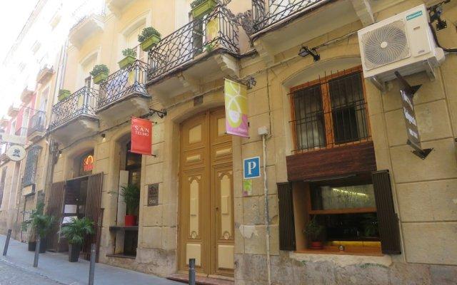 Отель Alicante San Nicolás вид на фасад