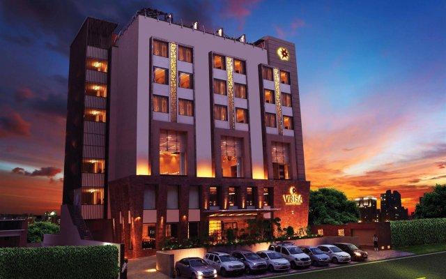 Hotel Vrisa вид на фасад