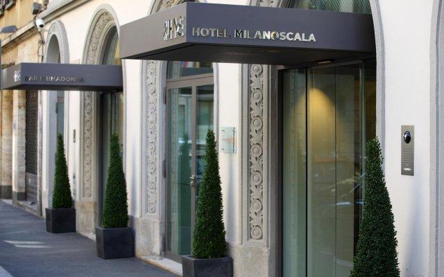 Отель Milano Scala Hotel Италия, Милан - 5 отзывов об отеле, цены и фото номеров - забронировать отель Milano Scala Hotel онлайн вид на фасад