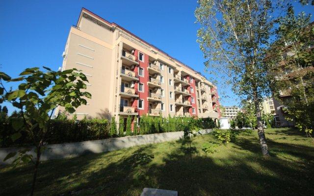 Отель Menada VIP Zone Болгария, Солнечный берег - отзывы, цены и фото номеров - забронировать отель Menada VIP Zone онлайн вид на фасад