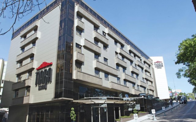 Tiara Thermal & Spa Hotel Турция, Бурса - отзывы, цены и фото номеров - забронировать отель Tiara Thermal & Spa Hotel онлайн вид на фасад