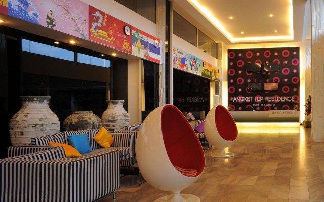 Отель Angket Hip Residence Таиланд, Паттайя - 1 отзыв об отеле, цены и фото номеров - забронировать отель Angket Hip Residence онлайн вид на фасад