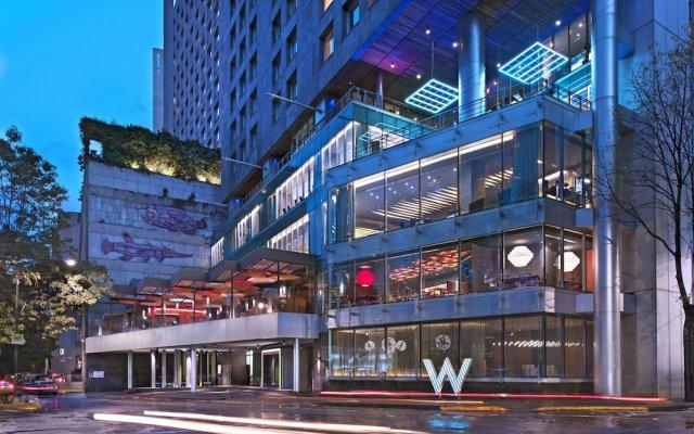 Отель W Mexico City вид на фасад