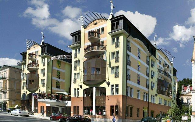 Отель Danubius Health Spa Resort Butterfly вид на фасад
