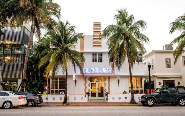 Century Hotel South Beach вид на фасад