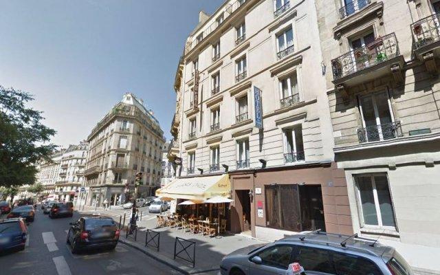 Отель Hôtel De Paris Opera вид на фасад