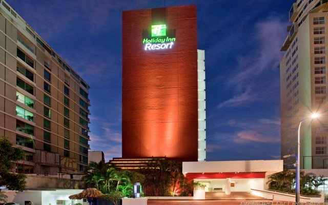 Отель Holiday Inn Resort Acapulco вид на фасад