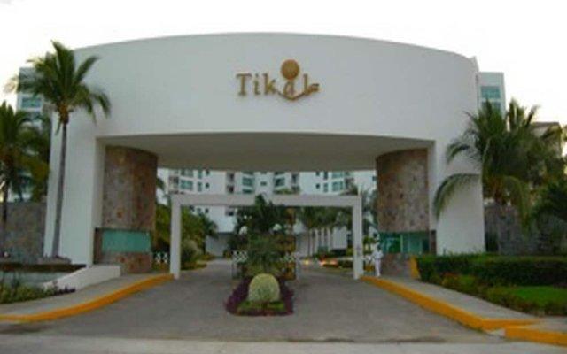 Отель Fraccionamiento Playa Diamante 272 вид на фасад