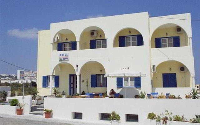 Отель Cyclades Греция, Остров Санторини - отзывы, цены и фото номеров - забронировать отель Cyclades онлайн вид на фасад
