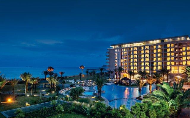 Отель Movenpick Hotel & Casino Malabata Tanger Марокко, Танжер - отзывы, цены и фото номеров - забронировать отель Movenpick Hotel & Casino Malabata Tanger онлайн вид на фасад