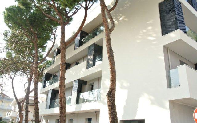 Отель Residence Filmare Италия, Риччоне - отзывы, цены и фото номеров - забронировать отель Residence Filmare онлайн вид на фасад