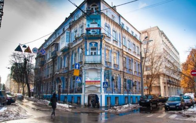 Гостиница Potter Globus вид на фасад