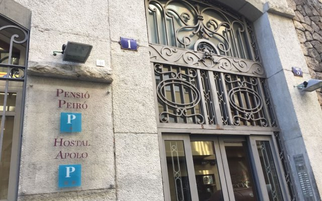 Отель Pensión Peiró Испания, Барселона - 1 отзыв об отеле, цены и фото номеров - забронировать отель Pensión Peiró онлайн вид на фасад