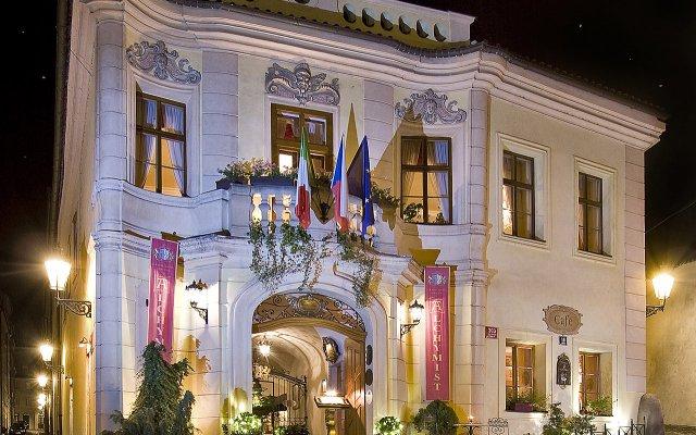 Отель Alchymist Grand Hotel & Spa Чехия, Прага - 5 отзывов об отеле, цены и фото номеров - забронировать отель Alchymist Grand Hotel & Spa онлайн вид на фасад