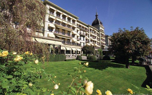 VICTORIA-JUNGFRAU Grand Hotel & Spa вид на фасад