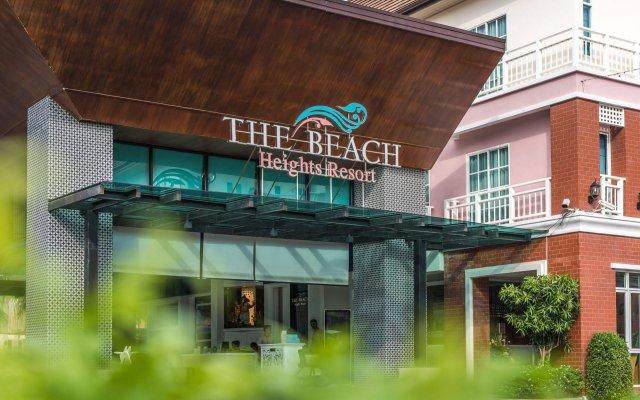 Отель The Beach Heights Resort Таиланд, Пхукет - 7 отзывов об отеле, цены и фото номеров - забронировать отель The Beach Heights Resort онлайн вид на фасад