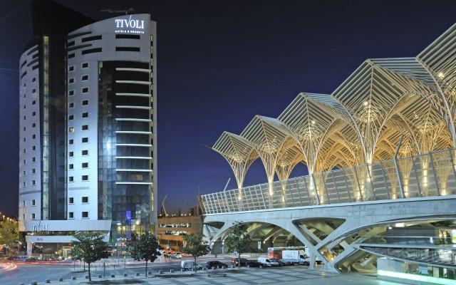Отель Tivoli Oriente вид на фасад
