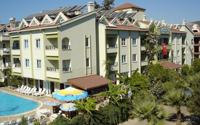 Отель Parkmar Apart вид на фасад