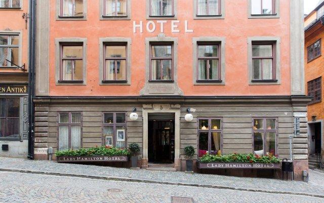 Отель Lady Hamilton - Collector's Hotels Стокгольм вид на фасад
