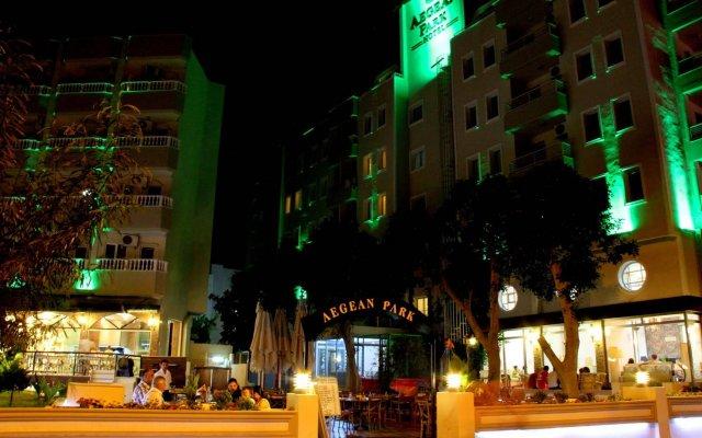 Aegean Park Hotel вид на фасад