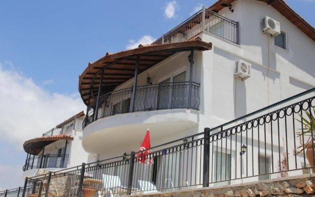 Отель Paradise Villas вид на фасад