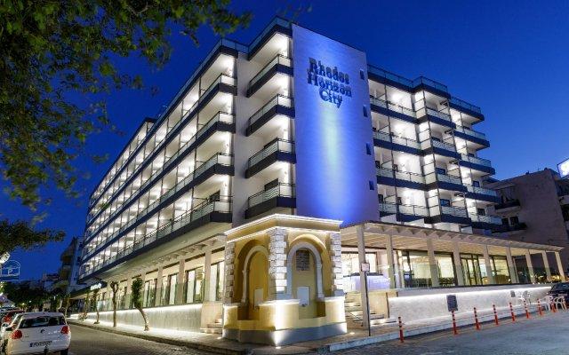 Отель Rhodos Horizon City Родос вид на фасад