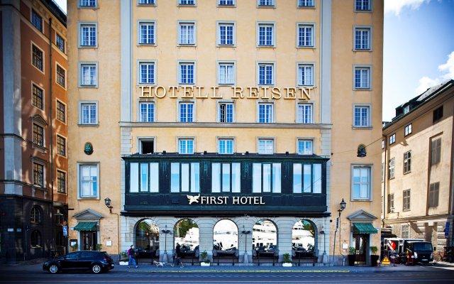 First Hotel Reisen вид на фасад